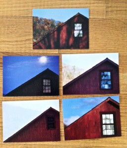 Barn notecards by Jon Katz